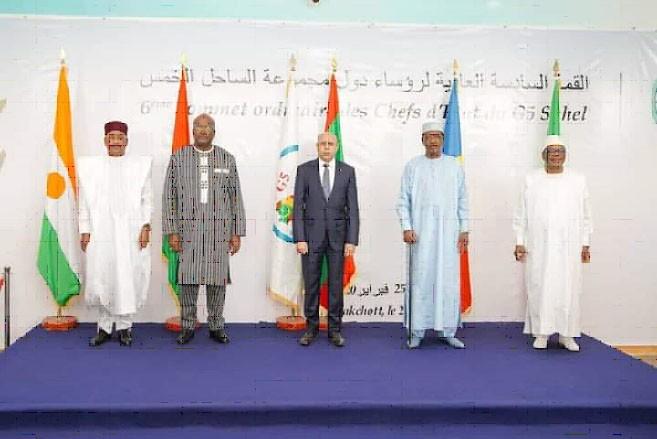 Zesɛnki sahɛli: G5 Sahel ka laadala ɲɔgɔnyeba tako wɔɔrɔnan kɛra Moritani faaba la Nuwakisɔti