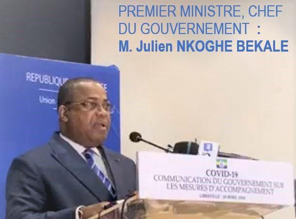 COVID-19 : Gabon, Communication du Gouvernement sur les mesures d'accompagnement