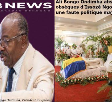 Gabon   Ali Bongo Ondimba absent aux obsèques de son Premier Ministre: une faute politique majeure
