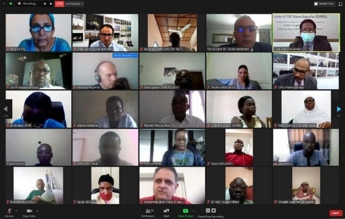 Plus de cent journalistes des Etats de l'OCI participent à l'atelier de l'UNA en français sur la lutte contre les fake news etles rumeurs
