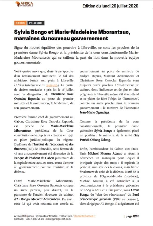 Chronique du Gabon | Présidence de la République: Qui dirige la 1ère institution du pays ?