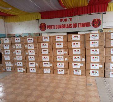 Congo/Politique : Le Pct lance la campagne de distribution des masques médicaux à ses militants