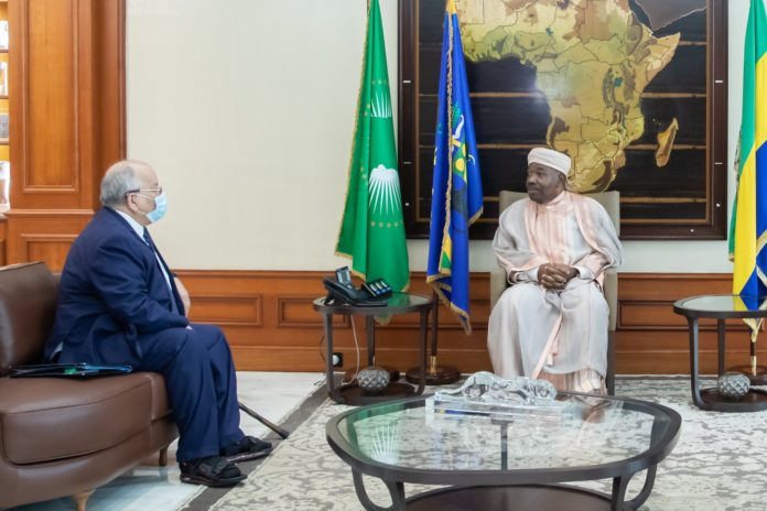 En amont du Sommet de la CEEAC fin juillet, son président en exercice Ali Bongo Ondimba reçoit le secrétaire général Ahmad Allam-Mi