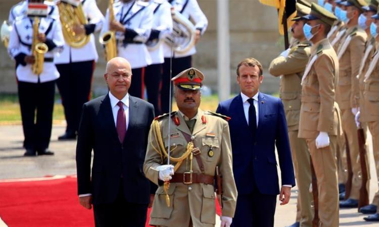 Diplomatie : Visite éclair du Président Emmanuel Macron en Irak