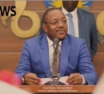 Gabon | L'occasion fait le larron : l'atypique Serge William Akassaga Okinda,  Maire par intérim  de la capitale Gabonaise.