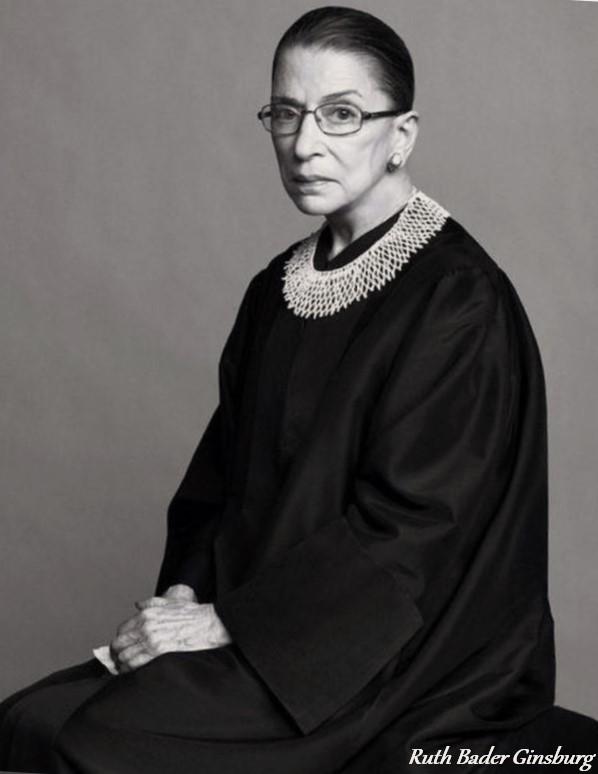 USA : Hommage à Ruth Bader Ginsburg, juge à la Cour Suprême