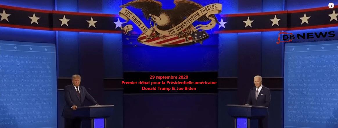 États-Unis   Donald Trump - Joe Biden : Premier débat
