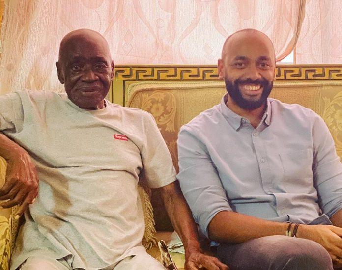 Gabon : Noureddin Bongo Valentin aux côtés de Papa Andjoua, la photo qui fait le buzz sur Instagram