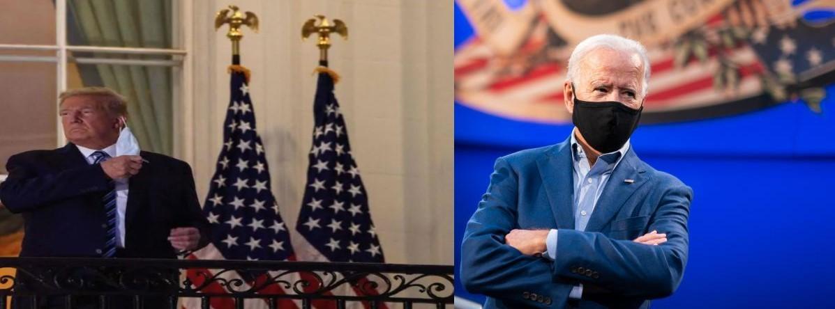 Election présidentielle américaine : Joe Biden « cinglé », selon Donald Trump