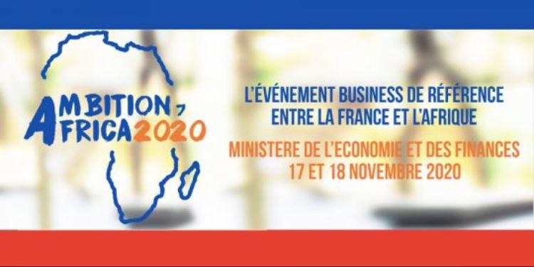 AGENDA Paris, 17-20/11 - AMBITION AFRICA 2020 (17-18/11) augmentée de 2 jours de BtoB digital, (19-20/11)