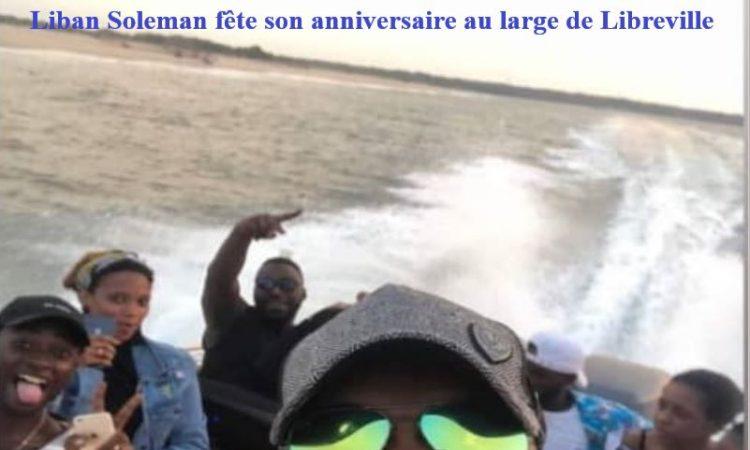 Gabon : Liban Soleman fête son anniversaire au large de Libreville