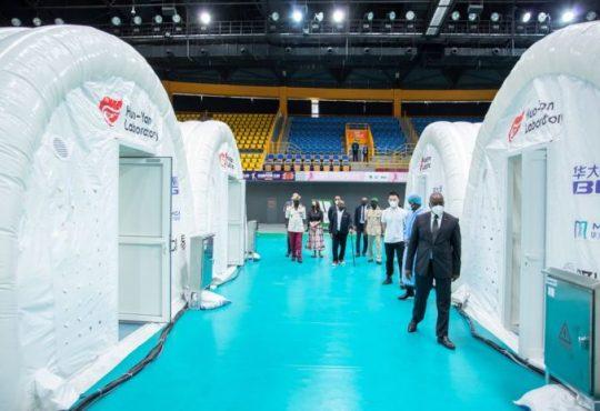 Covid-19 : Le Gabon effectue désormais en moyenne 3 000 tests par jour