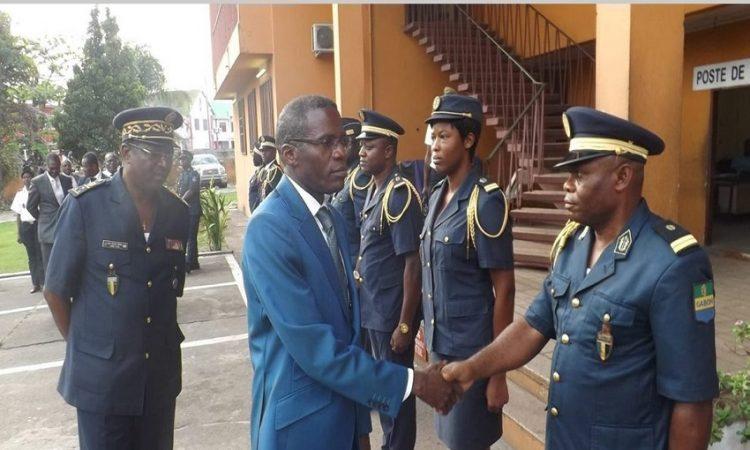 Gabon:Lambert-Noël Matha salue le comportement exemplaire de ses troupes
