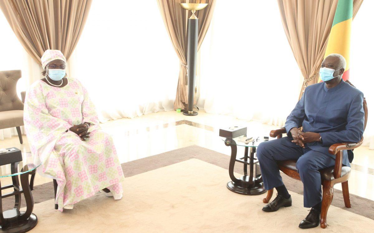 Koulouba: Ballet diplomatique chez le président de la Transition