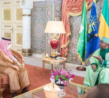 Le Président Ali Bongo Ondimba reçoit le Ministre des Affaire Etrangères du Royaume d'Arabie Saoudite