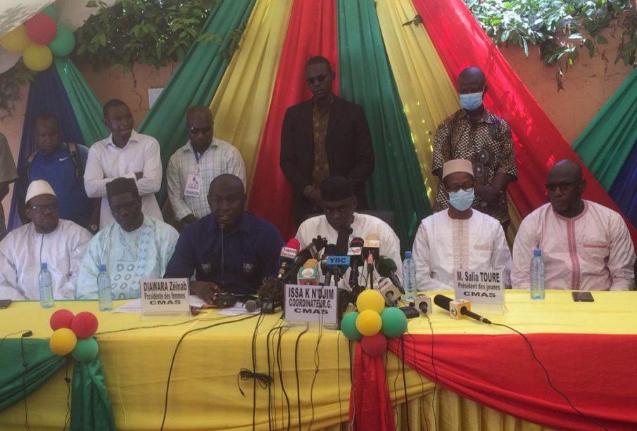 Mali: Soutien ferme de la CMAS aux autorités de la Transition
