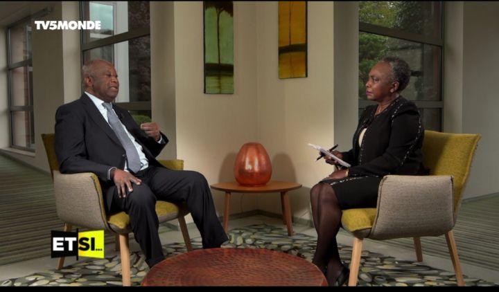 """Situation sociopolitique/ Laurent Gbagbo depuis Bruxelles : """"Il faut négocier"""" ( Interview TV5)"""