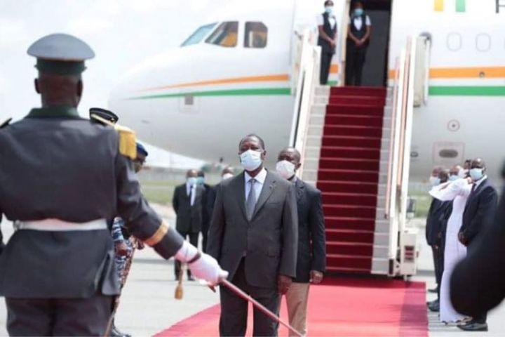Alassane Ouattara a quitté Abidjan pour un séjour privé en France