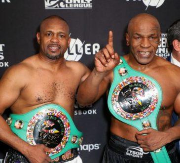 Boxe: Le combat des vétérans entre Mike Tyson et Roy Jones se solde par un nul