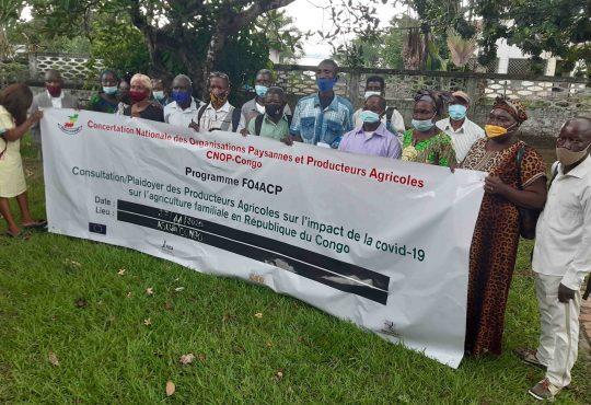 Congo/Agriculture : Élaborer  un document de plaidoyer en faveur des producteurs agricoles
