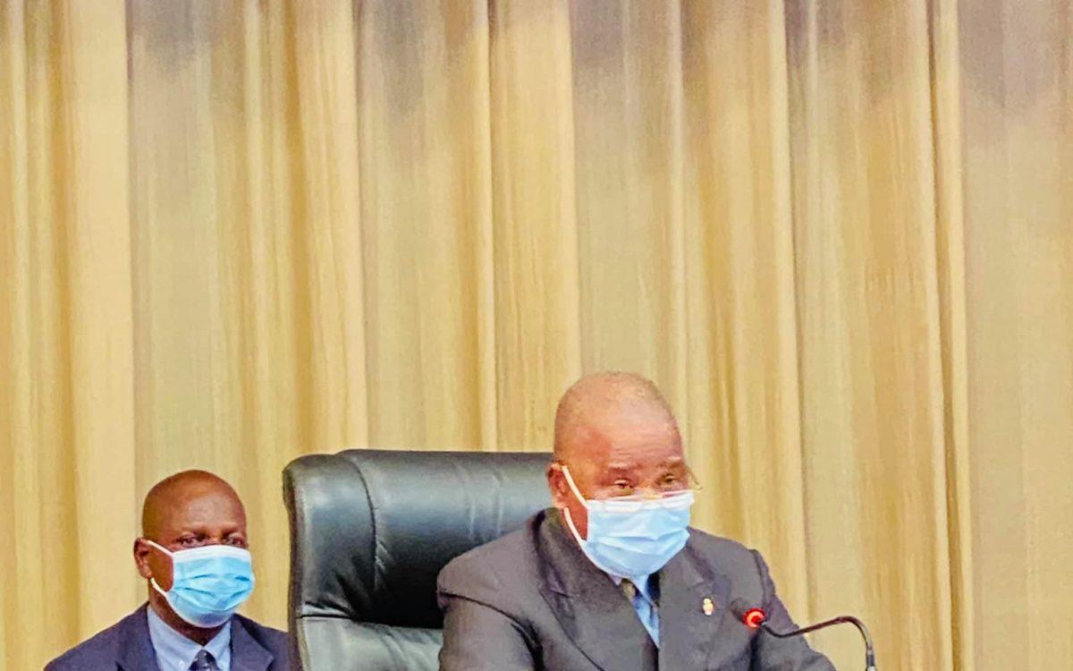 Congo/Covid 19 : Le Sénat proroge pour la 12ème fois l'état d'urgence sanitaire