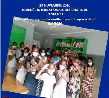 Gabon   20 novembre 2020: Journée internationale des droits de l'enfant