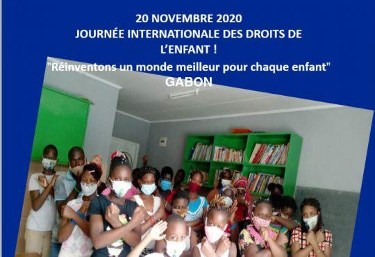 Gabon | 20 novembre 2020: Journée internationale des droits de l'enfant