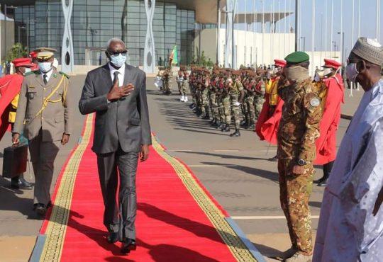 Le président Bah N'Dawattendu au Ghana, au Togo, au Sénégal et en Guinée-Bissau