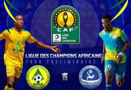 Pour sa première sortie en Ligue des champions de la CAF, les Gabonais de Bouenguidi Sports arrache un solide match nul (0-0) face à l'équipe zambienne des Forest Rangers