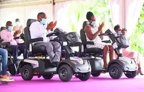 Sylvia et Handicap - Sylvia Bongo en solidarité avec les personnes vivant avec un handicap