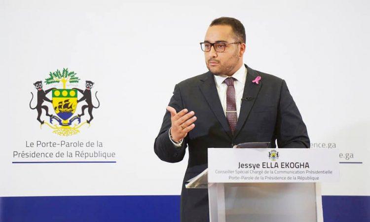 Taskforce/Dette intérieure : Interview du Porte-parole de la Présidence de la République, Jessye Ella Ekogha