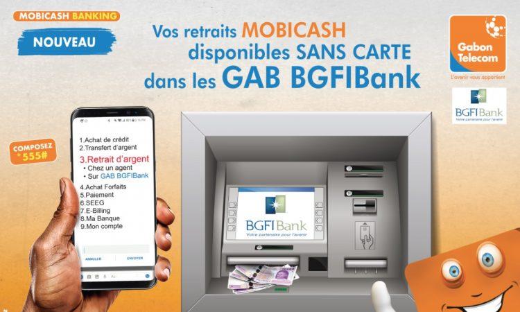 Service de retrait Mobicash sur GAB BGFI : Gabon Télécom rassure