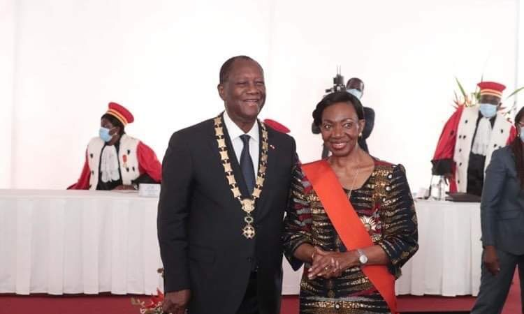 Alassane Dramane Ouattara : Cérémonie de prestation de serment du président ivoirien pour un troisième mandat controversé