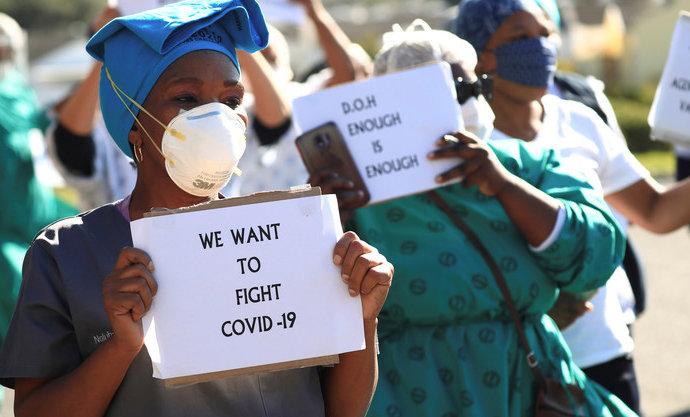 Coronavirus: l'Afrique du Sud dépasse le million de cas positifs