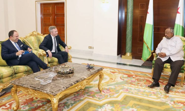 France | Diplomatie : Visite de Jean-Baptiste Lemoyne à Djibouti