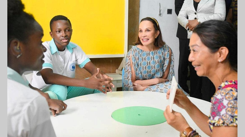 Assistance:L'ENEDA aux bons soins de Sylvia Bongo Ondimba
