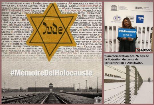 """""""Commémoration des 76 ans de la libération du camp de concentration d'Auschwitz"""""""