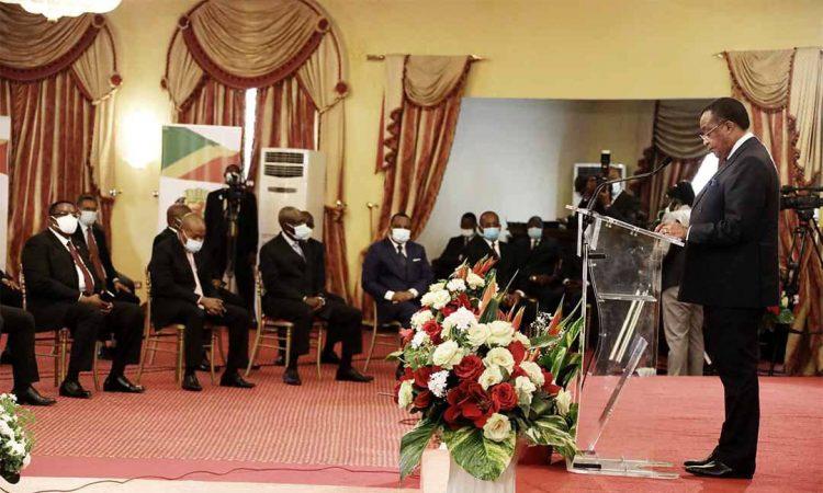 Congo Brazzaville | Présidence de la République : Présentation de vœux de nouvel An