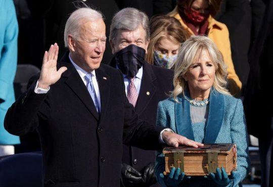Etats-Unis:Joe Biden devient 46e président