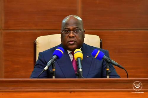 Félix Tshisekedi : « Les efforts fournis en 2020 seront accrus en 2021 »