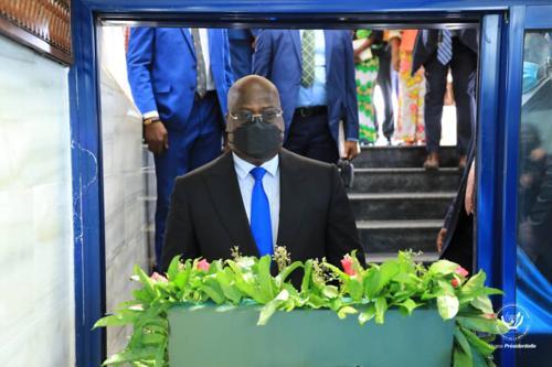 Félix Tshisekedi rend hommage à Laurent-Désiré Kabila