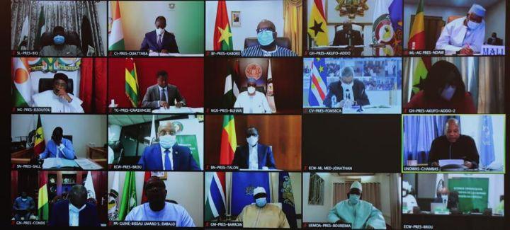 Le Chef de l'Etat a pris part, par visioconférence, au 58e Sommet ordinaire de la CEDEAO