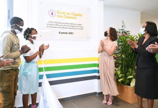 L'égalité des chances au cœur de l'engagement de la Fondation Sylvia Bongo Ondimba pour la famille auprès de l'ENEDA