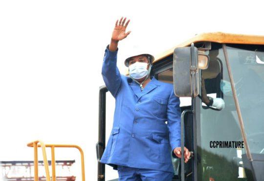 Niari/Infrastructures : Plus de 44 milliards de Fcfa pour la construction de la route Dolisie-Kibangou