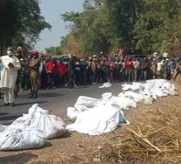 Cameroun : Une cinquantaine de morts dans un accident de la circulation