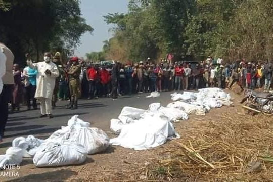 Cameroun : Une cinquantaine de morts dans un accident de la circulation