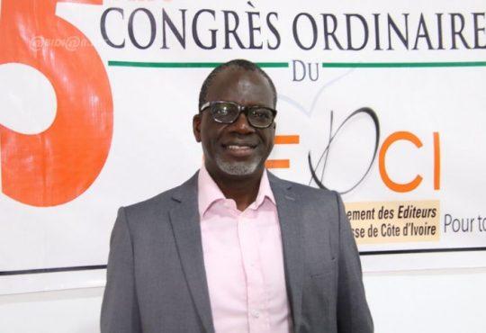 Presse :  Zohoré Lassane  élu nouveau président du GEPCI