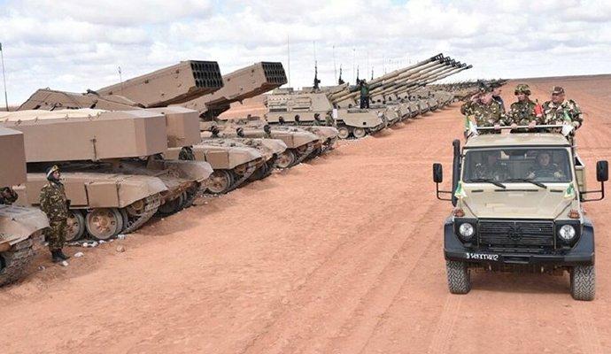 Sahara: importantes manoeuvres algériennes à la frontière marocaine