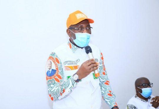 Yamoussoukro/Législatives : le Ministre Souleymane Diarrassouba met les responsables politiques  en mission pour la victoire du RHDP