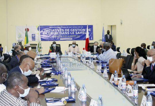 Bamako : Rencontre internationale surla mise en cohérence des initiatives régionales de la gestion de la crise dans le Sahel